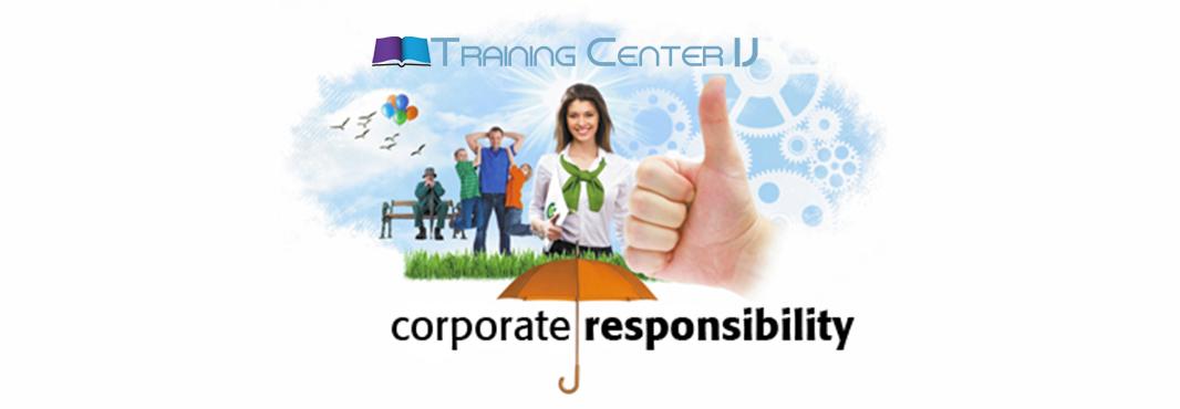 Корпоративна социална отговорност на Training Center IJ